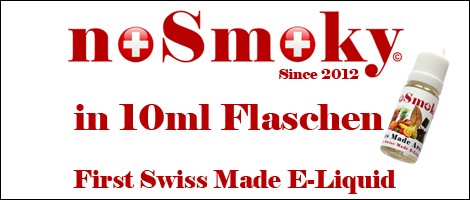 noSmoky (Swiss Made) E-Liquid 10ml
