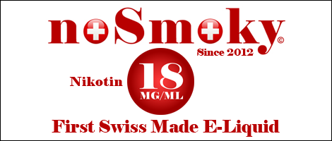 noSmoky (Swiss Made) E-Liquid 18mg Nikotin
