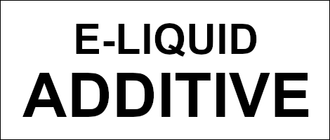E-Liquid Additive / Zusatzstoffe