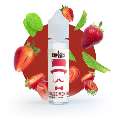 Cirkus Authentic - Fraise Menthe 60ml (Shake & Vape)