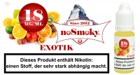E-Liquid noSmoky - Exotik 18mg/ml Nikotin