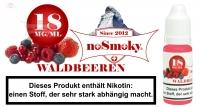 E-Liquid noSmoky - Waldbeeren 18mg/ml Nikotin