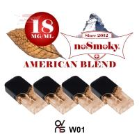 OVNS W01 Pods - noSmoky AMERICAN BLEND (4er Pack)