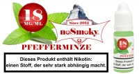 E-Liquid noSmoky - Pfefferminze 18mg/ml Nikotin