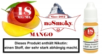 E-Liquid noSmoky - Mango 18mg/ml Nikotin