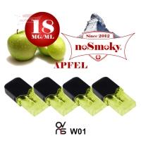 OVNS W01 Pods - noSmoky APFEL (4er Pack)