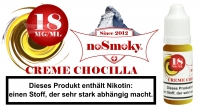 E-Liquid noSmoky - Creme Chocilla 18mg/ml Nikotin