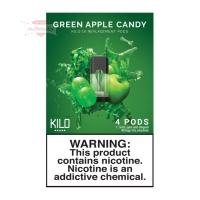 KILO 1K Pods - Green Apple Candy (4er Pack)