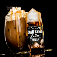 Nitro's Cold Brew Coffee - MACCHIATO 120ml (Shake & Vape)