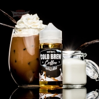 Nitro's Cold Brew Coffee - VANILLA BEAN 120ml (Shake & Vape)