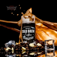 Nitro's Cold Brew Coffee - WHITE CHOCOLATE MOCHA 120ml (Shake & Vape)