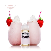 Nitro's Cold Brew Shakes - STRAWBERI & CREAM 120ml (Shake & Vape)