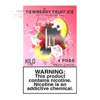 KILO 1K Pods - Dewberry Fruit Ice (4er Pack)