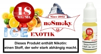 E-Liquid noSmoky - Exotik ICE 18mg/ml Nikotin