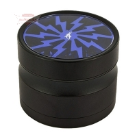 After Grow THORINDER Blau Alu Grinder 4-tlg Ø62mm