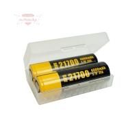Case für 2 20700/21700 Akku-Batterien