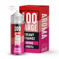 Large Juice - CREAMY STRAWBZ 30ml (Shake & Vape Aroma)