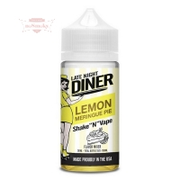 Late Night Diner - LEMON MERINGUE PIE 50/100ml (Shake & Vape)