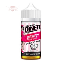 Late Night Diner - BERRY FRUIT TART 50/100ml (Shake & Vape)