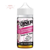 Late Night Diner - STRAWBERRY SHORTCAKE 50/100ml (Shake & Vape)