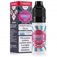 Dinner Lady - WATERLEMON SLICES 10ml (Nikotinsalz)