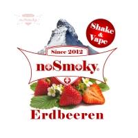 noSmoky (Swiss Made) E-Liquid Shake & Vape - Erdbeeren