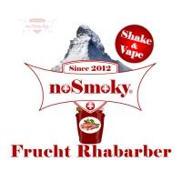 noSmoky (Swiss Made) E-Liquid Shake & Vape - Frucht Rhabarber