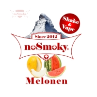 noSmoky (Swiss Made) E-Liquid Shake & Vape - Melonen