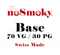 noSmoky (Swiss Made) Base 70% VG / 30% PG