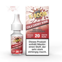 K-BOOM - COLA CHERRY BOMB 10ml (Nikotinsalz)