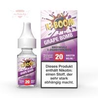 K-BOOM - GRAPE BOMB 10ml (Nikotinsalz)