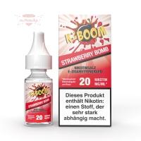K-BOOM - STRAWBERRY BOMB 10ml (Nikotinsalz)