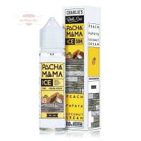 Pacha Mama - PEACH PAPAYA COCONUT CREAM ICE 60ml (Shake & Vape)