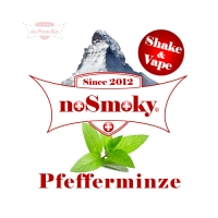 noSmoky (Swiss Made) E-Liquid Shake & Vape - Pfefferminze