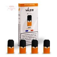 Vaze Pods - Peach Orange (4er Pack)