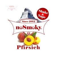 noSmoky (Swiss Made) E-Liquid Shake & Vape - Pfirsich
